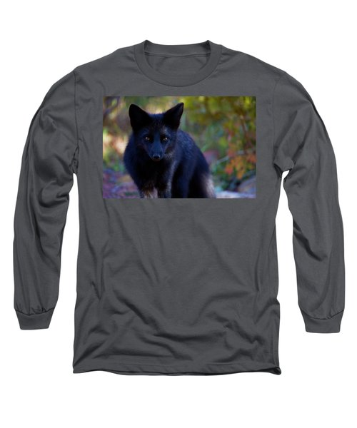 Long Sleeve T-Shirt featuring the photograph Reading The Menu by Jim Garrison