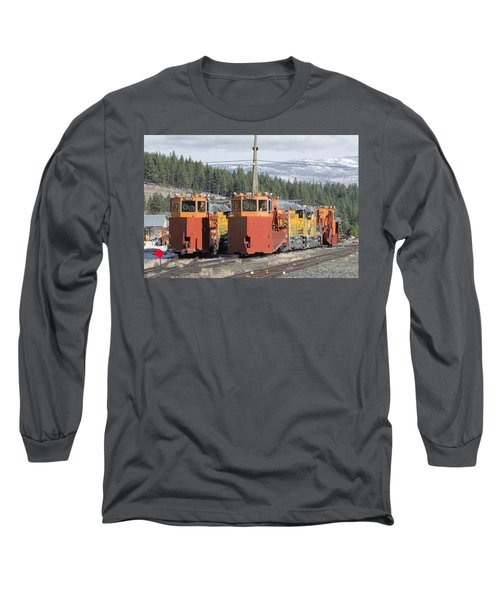 Ready For More Snow At Donner Pass Long Sleeve T-Shirt by Jim Thompson