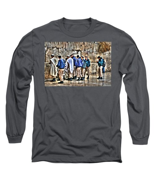 Long Sleeve T-Shirt featuring the photograph Real Homeland Security In Israel by Doc Braham