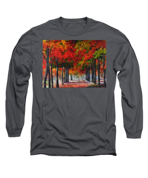 Red Alley II Long Sleeve T-Shirt