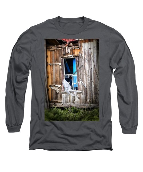 Long Sleeve T-Shirt featuring the photograph Red And White And Blue by Caitlyn  Grasso