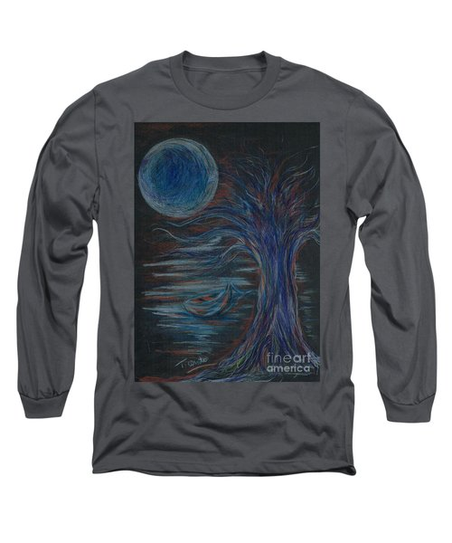 Red At Midnight Long Sleeve T-Shirt