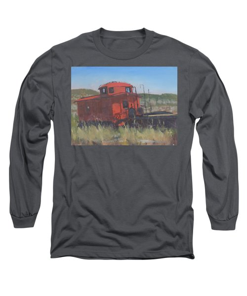 Red - Art By Bill Tomsa Long Sleeve T-Shirt