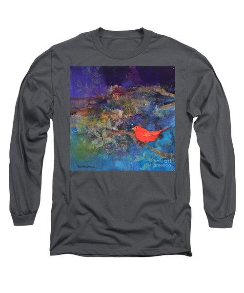 Red Bird Long Sleeve T-Shirt