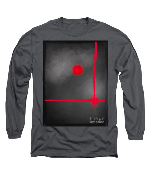 Red Dot Long Sleeve T-Shirt