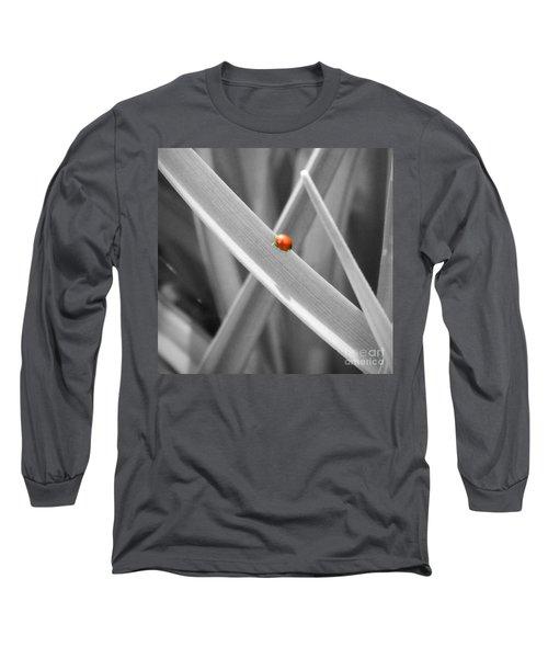 Red Ladybird Long Sleeve T-Shirt