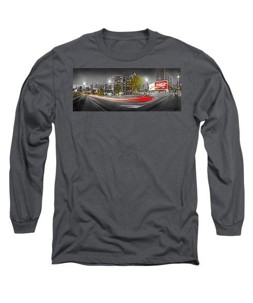 Red Lights Sydney Nights Long Sleeve T-Shirt