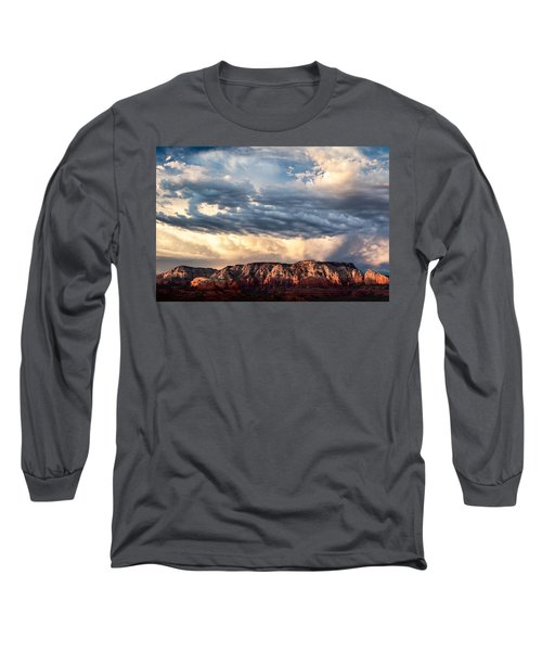 Red Rocks Of Sedona Long Sleeve T-Shirt