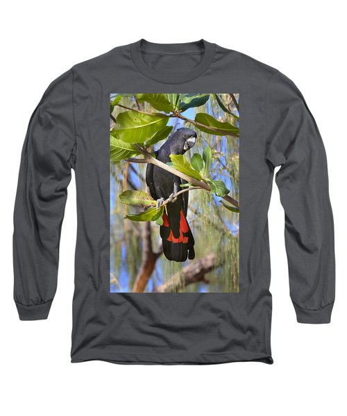 Red-tailed Black-cockatoo Queensland Long Sleeve T-Shirt