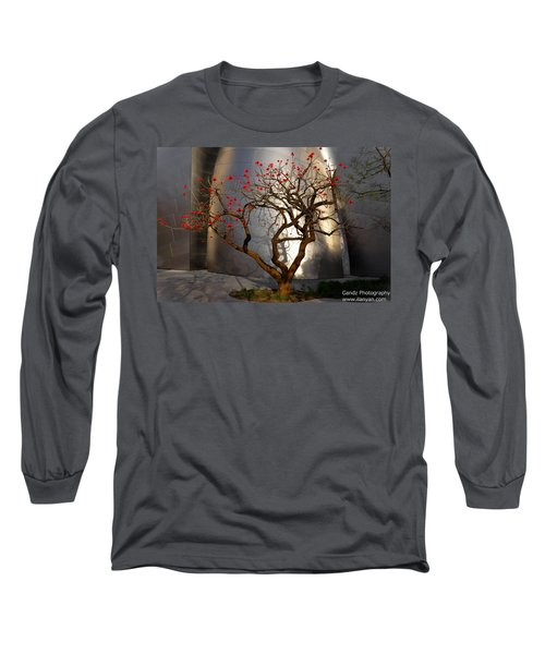 Red Tree  Long Sleeve T-Shirt
