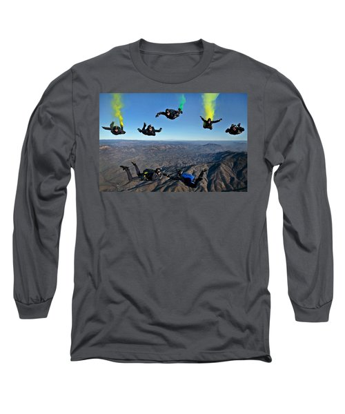 Reenlistment In The Clouds Long Sleeve T-Shirt