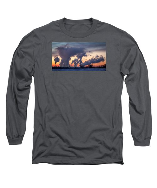 Flint Hills Resources Pine Bend Refinery Long Sleeve T-Shirt by Patti Deters