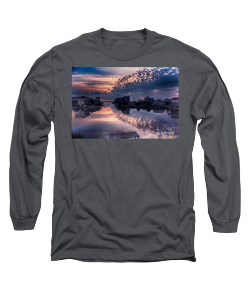 Reflecting On North Carolina Long Sleeve T-Shirt