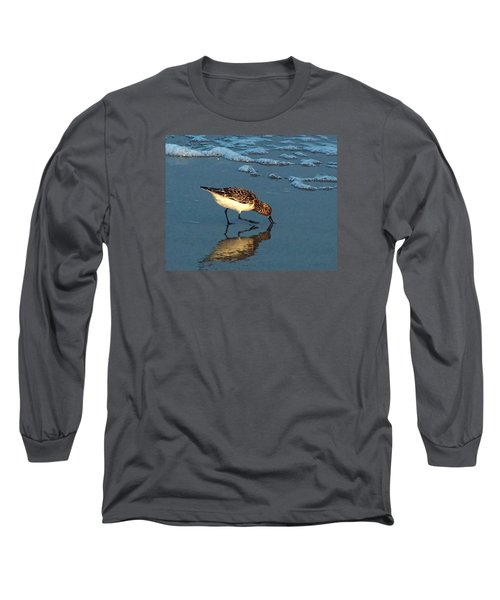 Reflection At Sunset Long Sleeve T-Shirt by Sandi OReilly