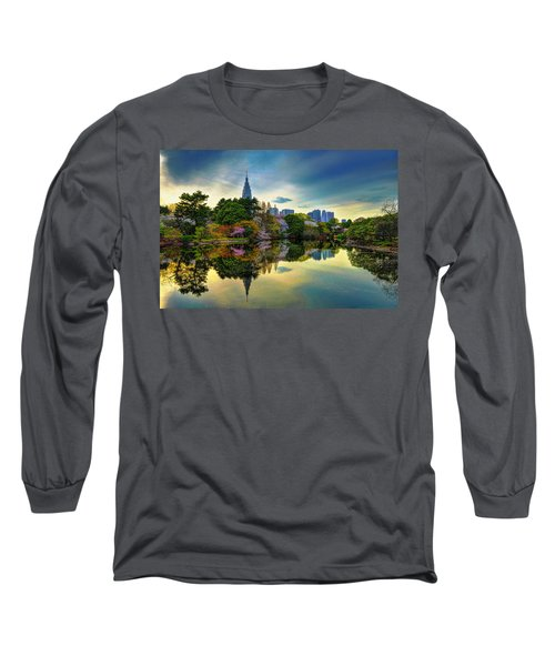 Reflection Of Spring Long Sleeve T-Shirt