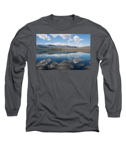 Long Sleeve T-Shirt featuring the photograph Reflections At Glacier National Park by John M Bailey