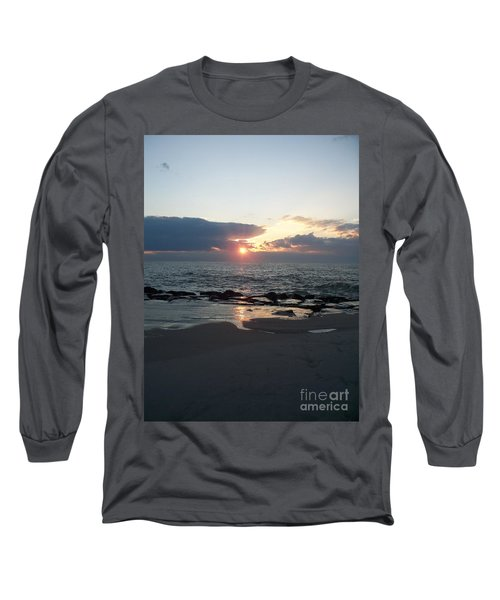 Reflections Cape May Point Long Sleeve T-Shirt by Eric  Schiabor