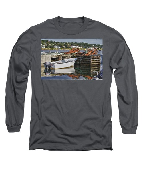 Reflections Long Sleeve T-Shirt by Eunice Gibb