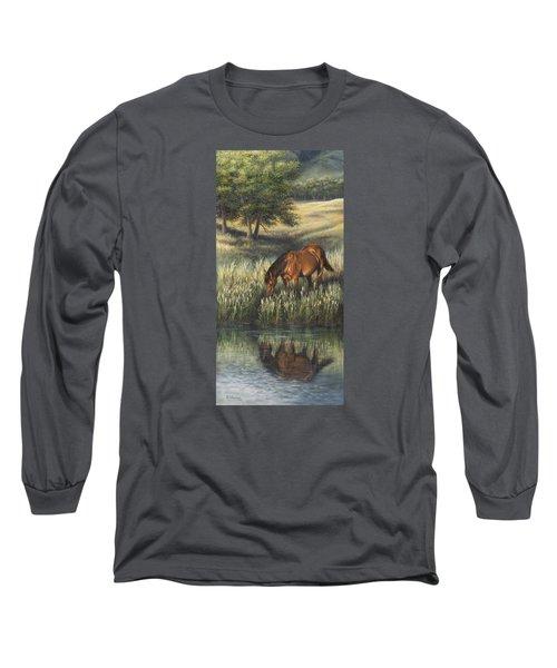 Reflections Long Sleeve T-Shirt by Kim Lockman
