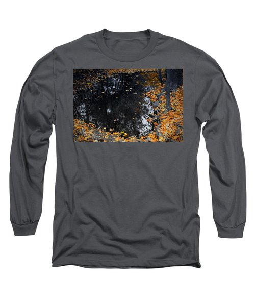 Reflections Of Autumn Long Sleeve T-Shirt by Photographic Arts And Design Studio