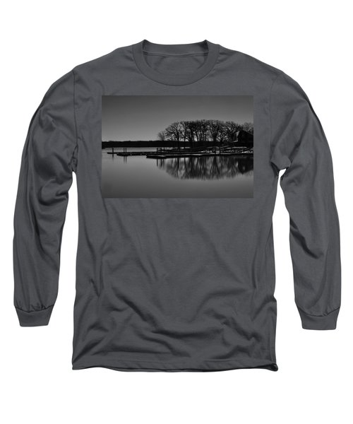 Long Sleeve T-Shirt featuring the photograph Reflections Of Water by Miguel Winterpacht