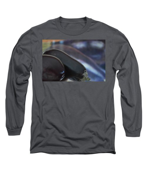 Reflections On An Ingredient Long Sleeve T-Shirt by Brian Boyle
