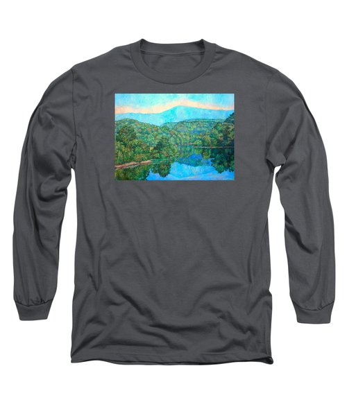 Reflections On The James River Long Sleeve T-Shirt
