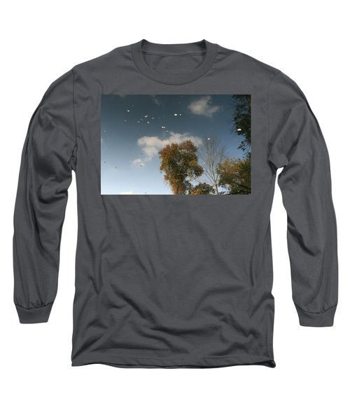 Reflective Thoughts  Long Sleeve T-Shirt by Neal Eslinger