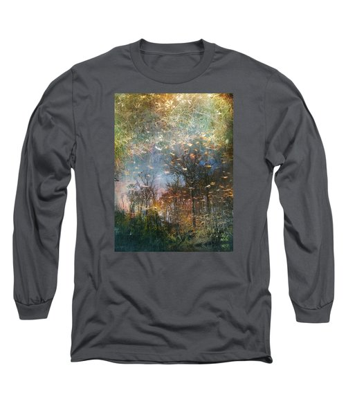 Long Sleeve T-Shirt featuring the photograph Reflective Waters by John Rivera