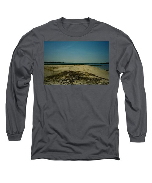 Long Sleeve T-Shirt featuring the photograph Rehoboth Bay Beach by Amazing Photographs AKA Christian Wilson