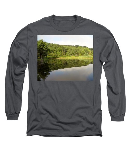 Long Sleeve T-Shirt featuring the photograph Relaxation by Michael Porchik