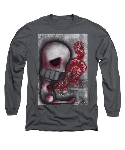 Released  Long Sleeve T-Shirt by Abril Andrade Griffith