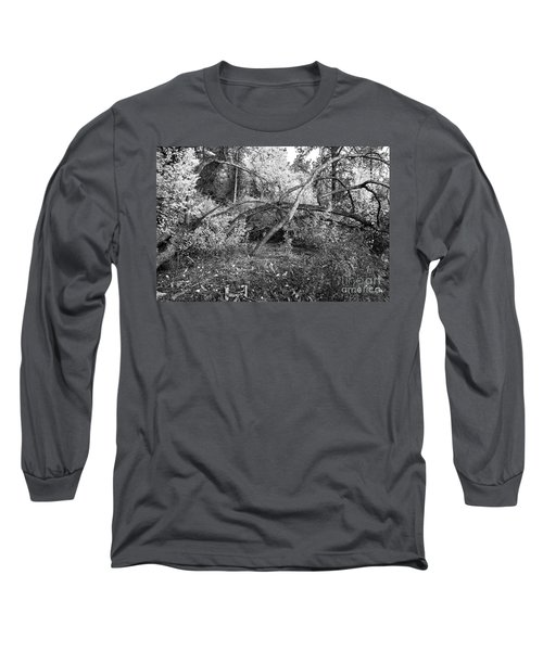 Long Sleeve T-Shirt featuring the photograph Tropical Shade by Roselynne Broussard