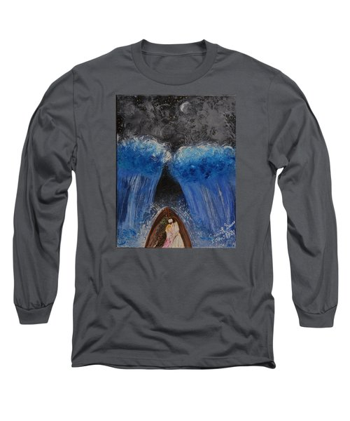 Rest In Him Long Sleeve T-Shirt by Cassie Sears