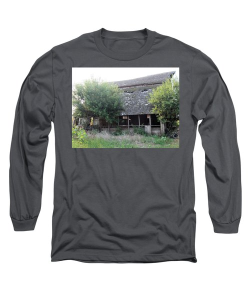 Long Sleeve T-Shirt featuring the photograph Retired Barn by Bonfire Photography