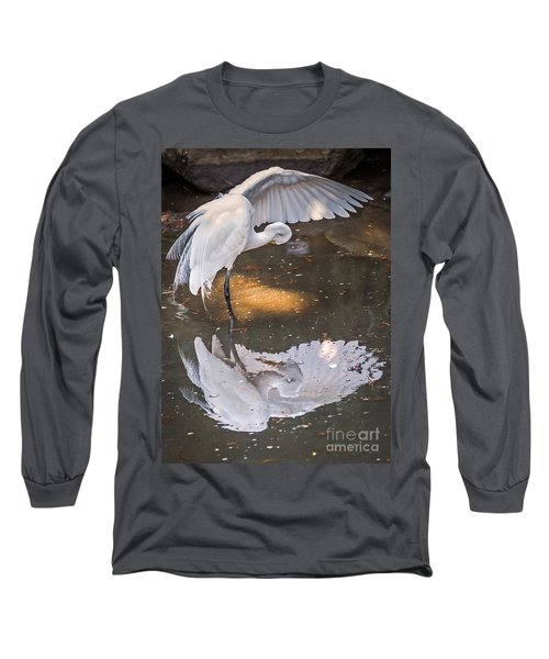 Long Sleeve T-Shirt featuring the photograph Revealed Close-up by Kate Brown