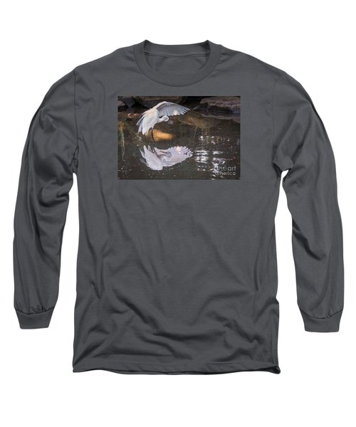 Revealed Landscape Long Sleeve T-Shirt by Kate Brown