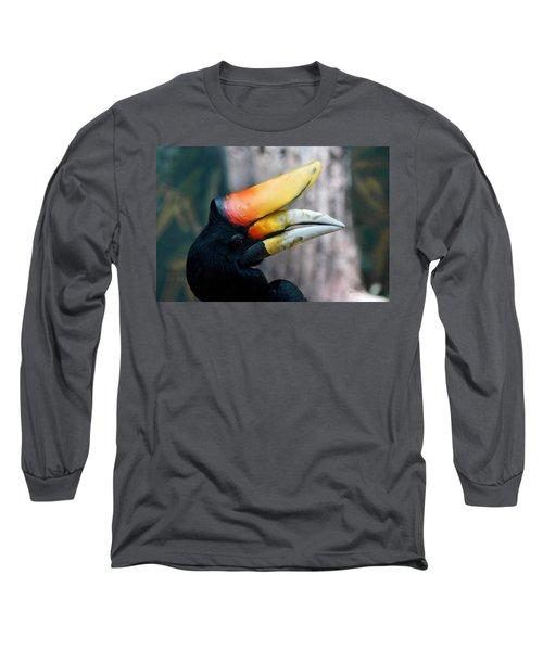 Rhinoceros Hornbill  Long Sleeve T-Shirt