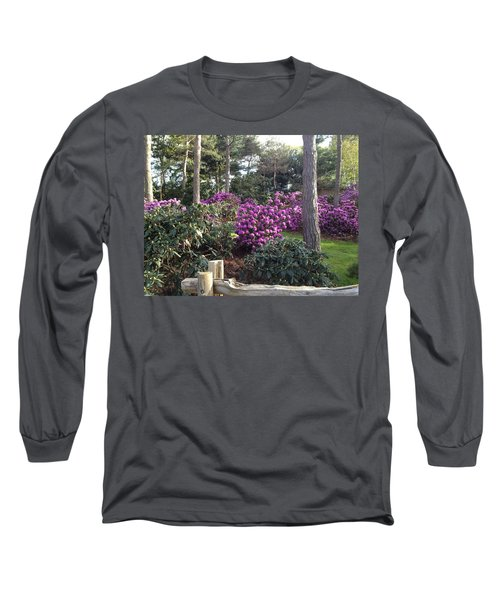 Rhododendron Garden Long Sleeve T-Shirt