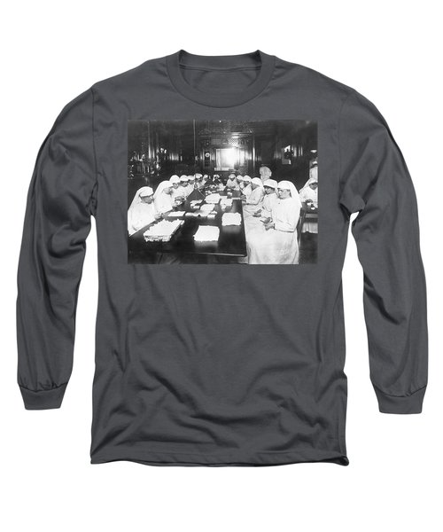Rich Homes Used For War Work Long Sleeve T-Shirt