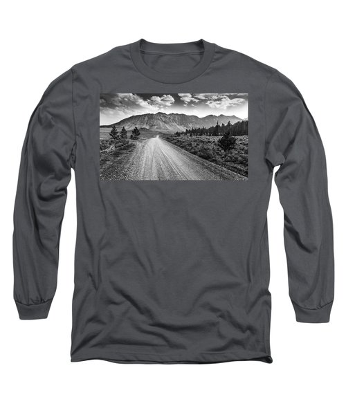 Riding To The Mountains Long Sleeve T-Shirt