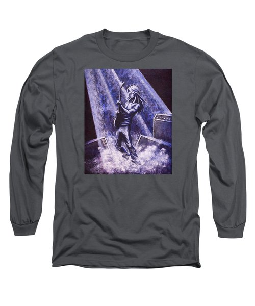 Riff Long Sleeve T-Shirt by Jack Malloch