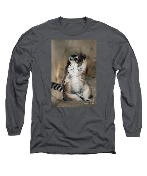 Ring-tailed Lemur Long Sleeve T-Shirt