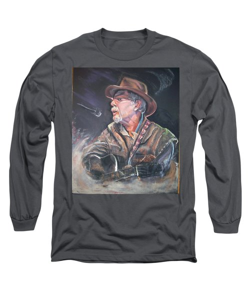 Rising Out Of The Sands Of Time Long Sleeve T-Shirt by Peter Suhocke