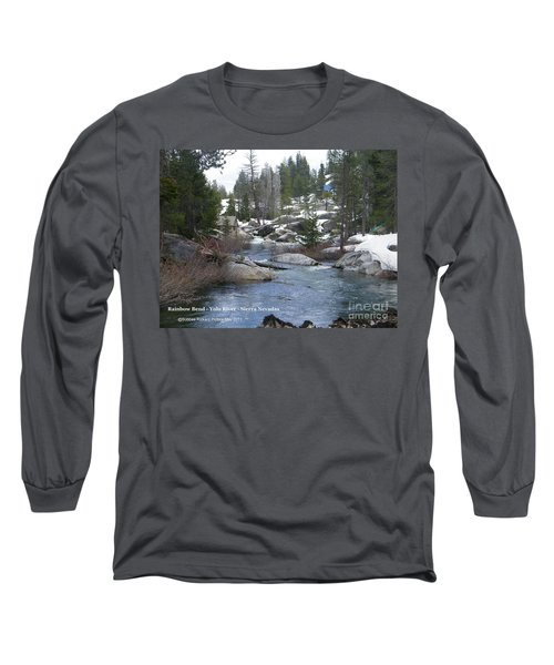 Long Sleeve T-Shirt featuring the photograph River Bend  by Bobbee Rickard