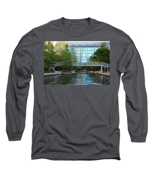 Long Sleeve T-Shirt featuring the photograph River Boating  by Shawn Marlow