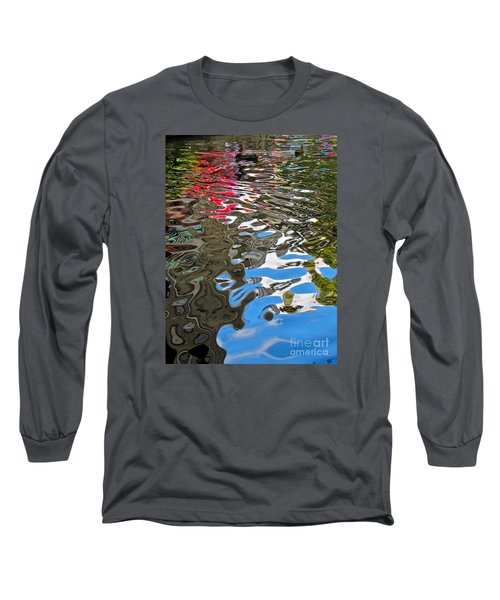 River Ducks Long Sleeve T-Shirt by Pamela Clements