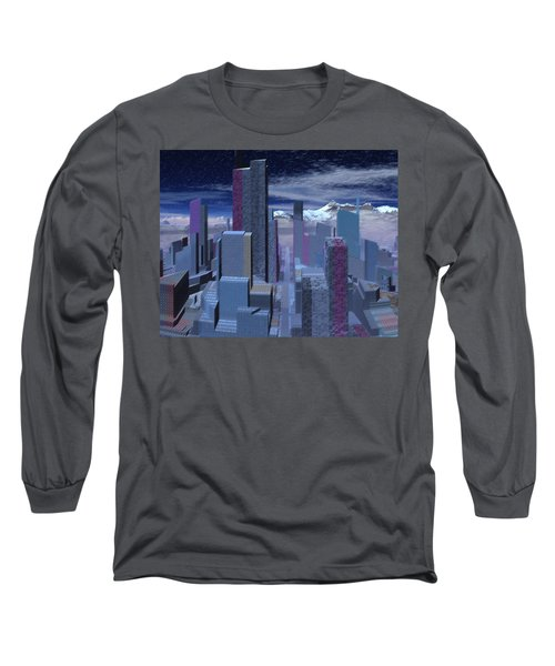 Long Sleeve T-Shirt featuring the digital art Road To Nowhere by Judi Suni Hall