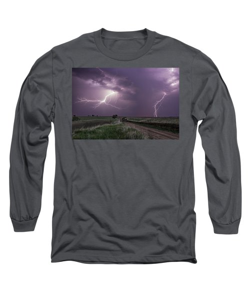 Road To Nowhere - Lightning Long Sleeve T-Shirt