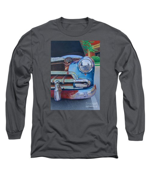 Road Warrior Long Sleeve T-Shirt by Pamela Clements